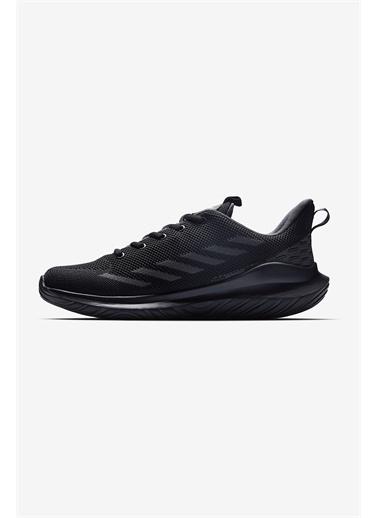 Lescon Hellium Petra Siyah Erkek Spor Ayakkabı Siyah